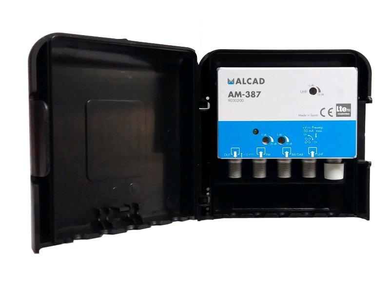 Alcad AM - 387 zesilovač / FM / DAB-BIII / UHF / LTE700