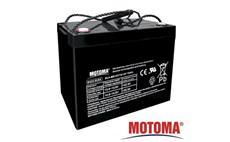 Baterie olověná  12V / 75Ah  MOTOMA bezúdržbový akumulátor