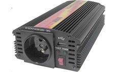 Carspa CAR500U 12V/230V 500W USB (mod. sin.)