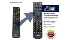 Dálkový ovladač ALIEN AB IPBOX 350 PRIME PVR - náhrada