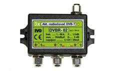 """Ivo DVBR-02 aktivní rozbočovač 3x výstup""""F"""" 5dB zisk"""