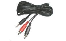 Kabel Jack 3,5mm - 2x CINCH 1,5m