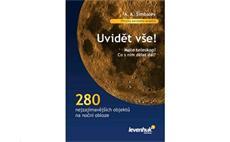 Kniha Vidět vše, užitečná příručka pro začínající astronomy