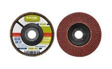 Kotouč lamelový šikmý korundový, P60, 125mm, KORUND EXTOL-CRAFT