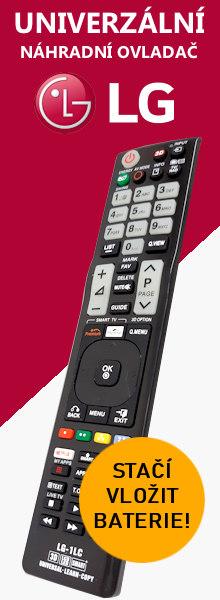 Dálkový ovladač pro televizor LG