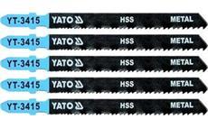 List pilový do přímočaré pily 100 mm na kov TPI24-10 5 ks YT-3415