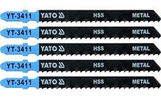 List pilový do přímočaré pily 100 mm na kov TPI8 5 ks YT-3411
