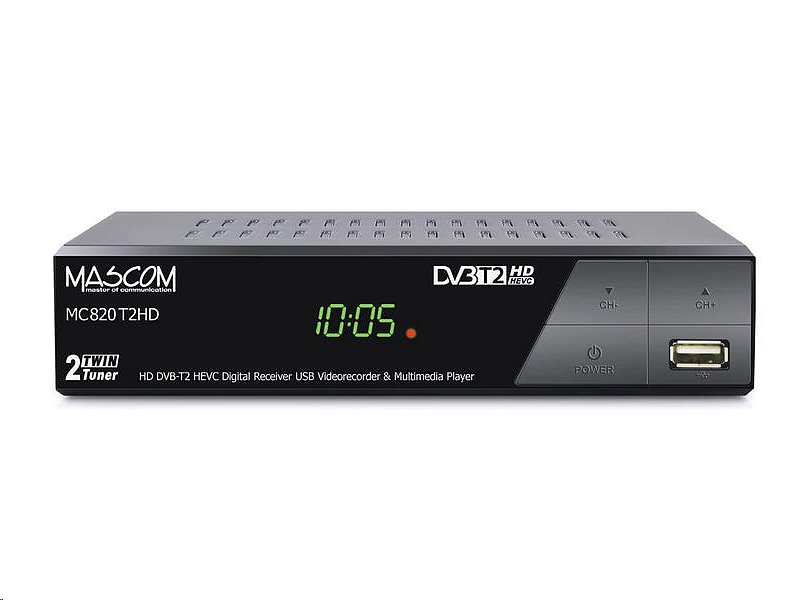MASCOM MC820T2 HD DVB-T2 H.265/HEVC