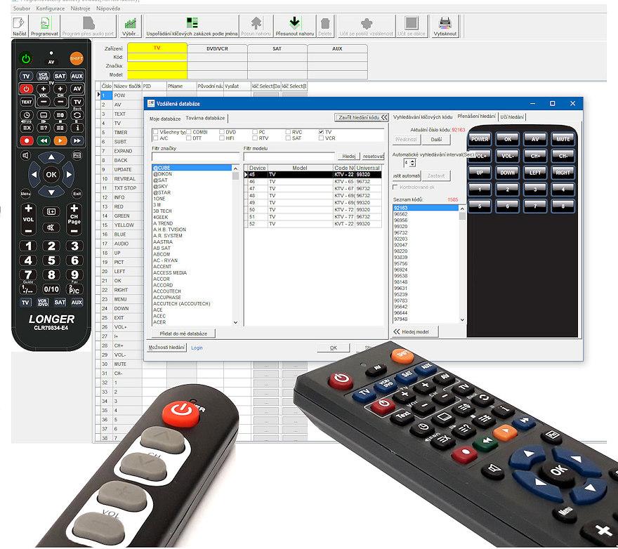 Software k programování ovladačů ALIEN
