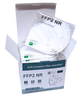 FFP2 respirátor balení