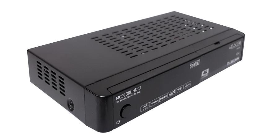 MASCOM MC9130 UHDCI 4K combo přijímač s HbbTV