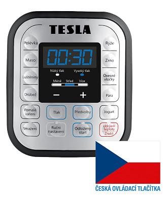 Multifunkční elektrický hrnec Tesla 10v1
