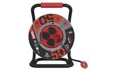 Prodlužovací kabel guma-neoprén na bubnu 50m / 3x1,5mm / 4 zásuvky