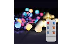 Solight 1V09-RGB LED venkovní vánoční řetěz 2v1