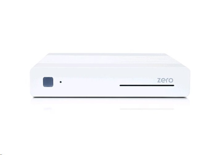 Vu+ Zero Rev.2 HEVC H.265 DVB-S2 přijímač bílý